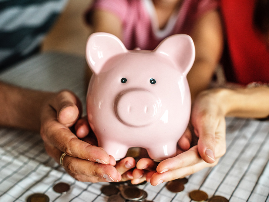 image showing a piggy bank